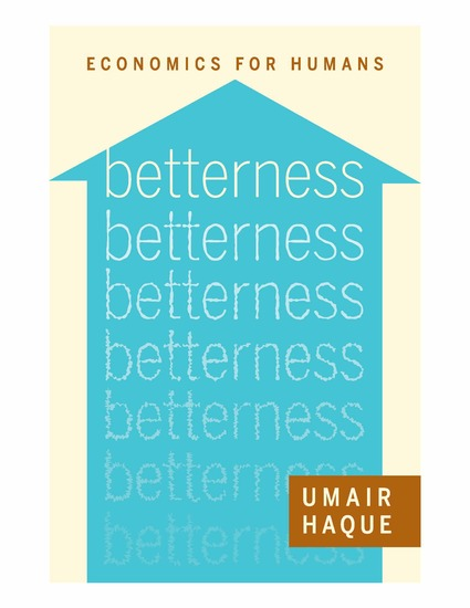 Betterness - Economics for Humans - cover