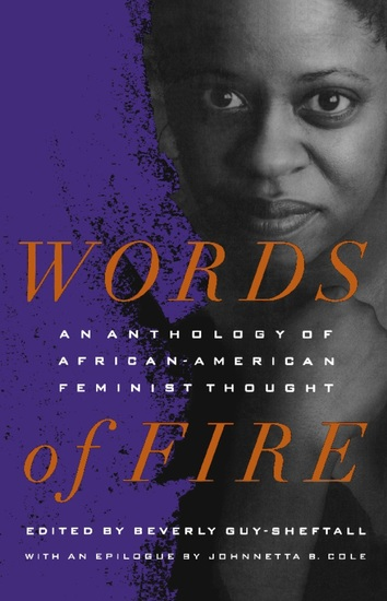 Words of Fire - An Anthology of African-AmericanFeminist Thought - cover