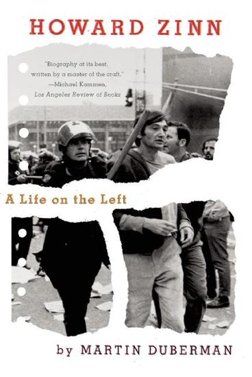 Howard Zinn - A Life on the Left - cover