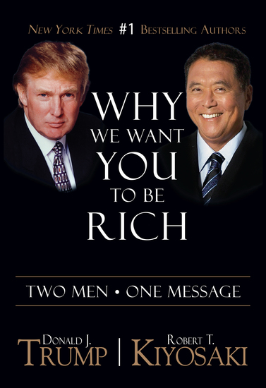 Why We Want You To Be Rich - Two Men • One Message - cover