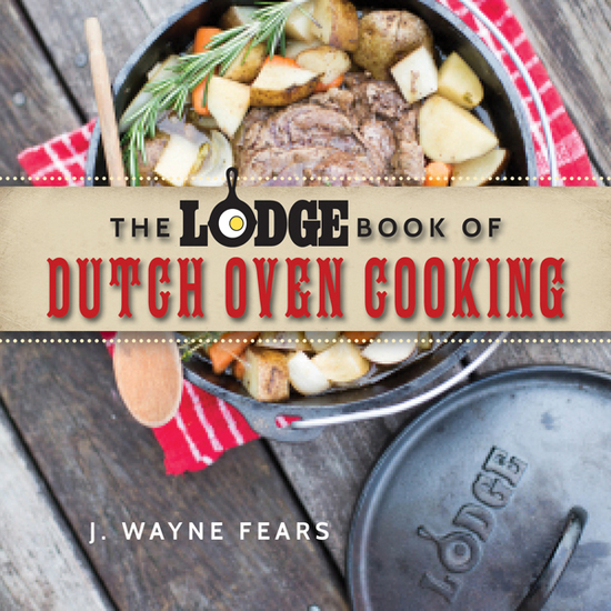 The Lodge Book of Dutch Oven Cooking - cover
