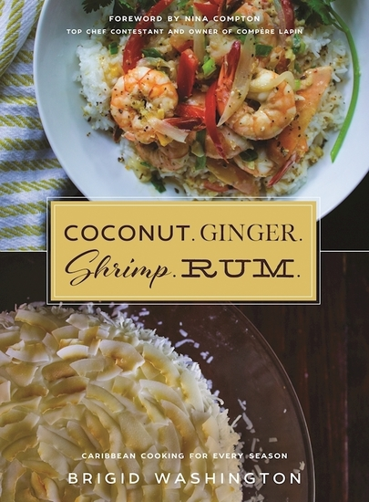 Coconut Ginger Shrimp Rum - Caribbean Flavors for Every Season - cover