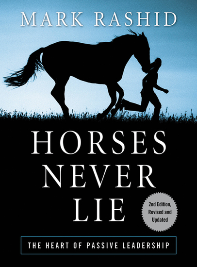 Horses Never Lie - The Heart of Passive Leadership - cover