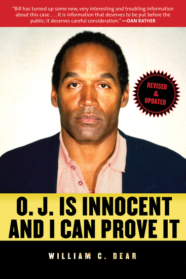 OJ Is Innocent and I Can Prove It - The Shocking Truth about the Murders of Nicole Brown Simpson and Ron Goldman - cover