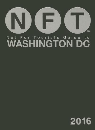 Not For Tourists Guide to Washington DC 2016 - cover