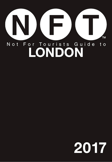Not For Tourists Guide to London 2017 - cover