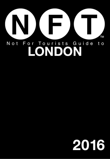 Not For Tourists Guide to London 2016 - cover