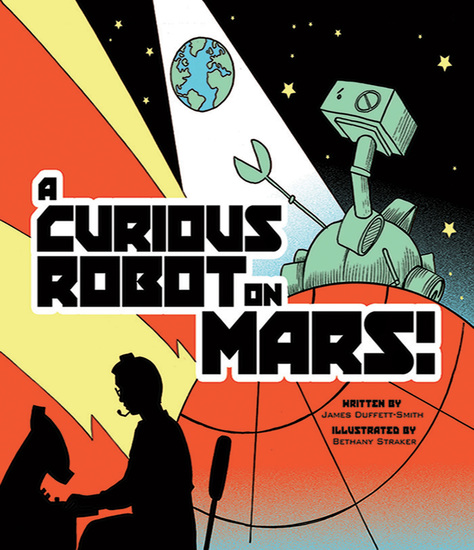 A Curious Robot on Mars! - cover