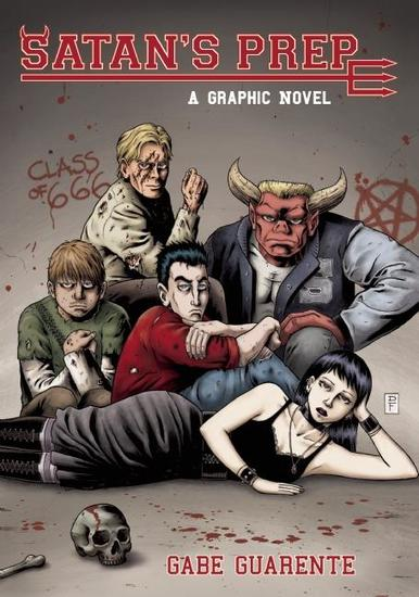 Satan's Prep - A Graphic Novel - cover