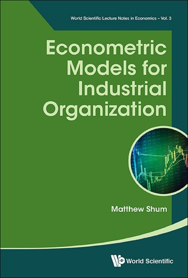 Econometric Models for Industrial Organization - cover