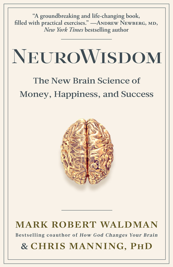 NeuroWisdom - The New Brain Science of Money Happiness and Success - cover