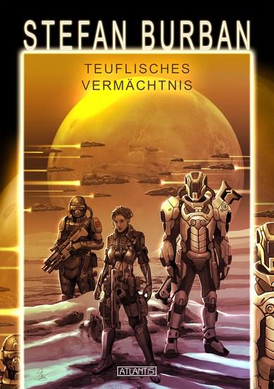 Das gefallene Imperium 3: Teuflisches Vermächtnis - cover