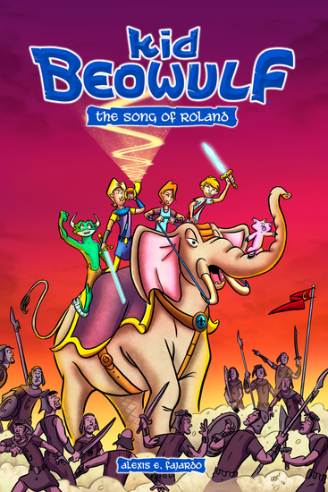 Kid Beowulf: The Song of Roland - cover