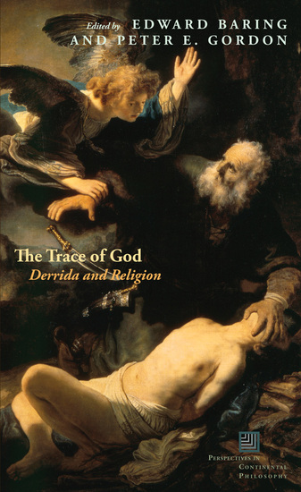 The Trace of God - Derrida and Religion - cover