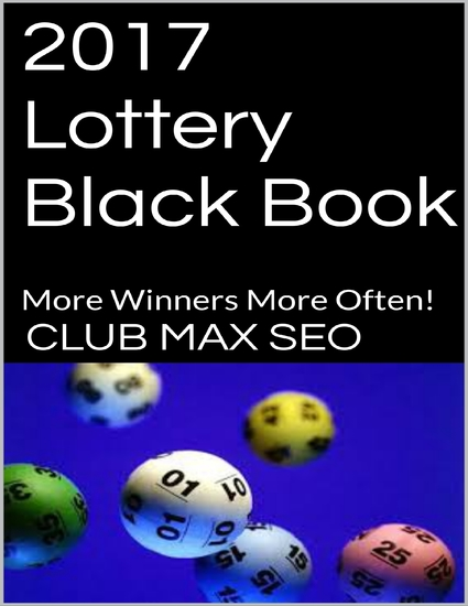 2017 Lottery Black Book - cover