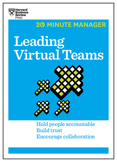 Leading Virtual Teams (HBR 20-Minute Manager Series) - cover