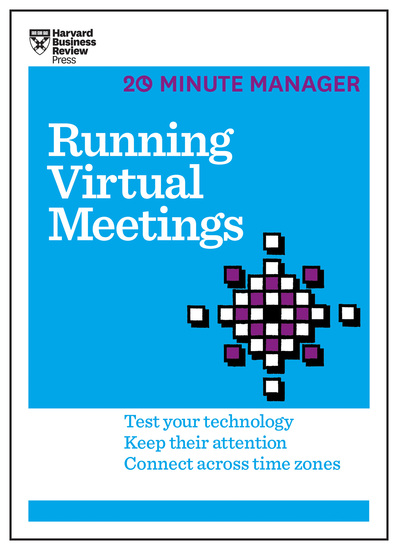 Running Virtual Meetings (HBR 20-Minute Manager Series) - cover