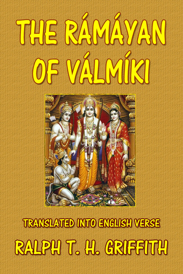 The Ramayana of Valmiki - cover