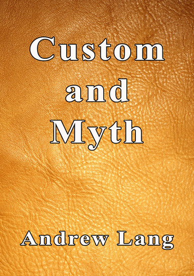 Custom and Myth - cover