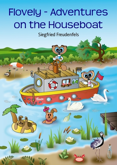 Flovely - Adventures on the Houseboat - cover