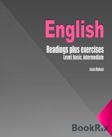 English Readings - plus exercises - level basic intermediate - cover