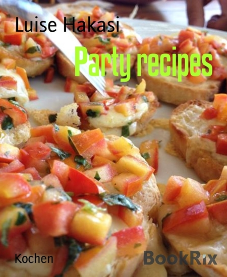 Party recipes - cover