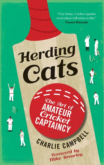 Herding Cats - The Art of Amateur Cricket Captaincy - cover