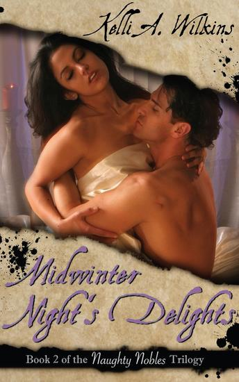 Midwinter Night's Delights - Naughty Nobles #2 - cover