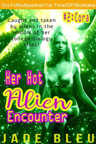 Her Hot Alien Encounter #2: Cora - cover