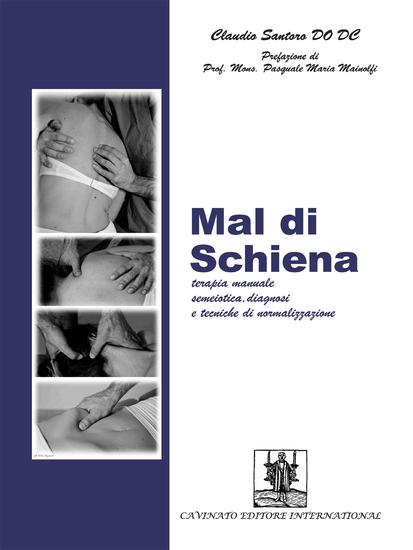 Mal di Schiena - Terapia e tecniche - cover