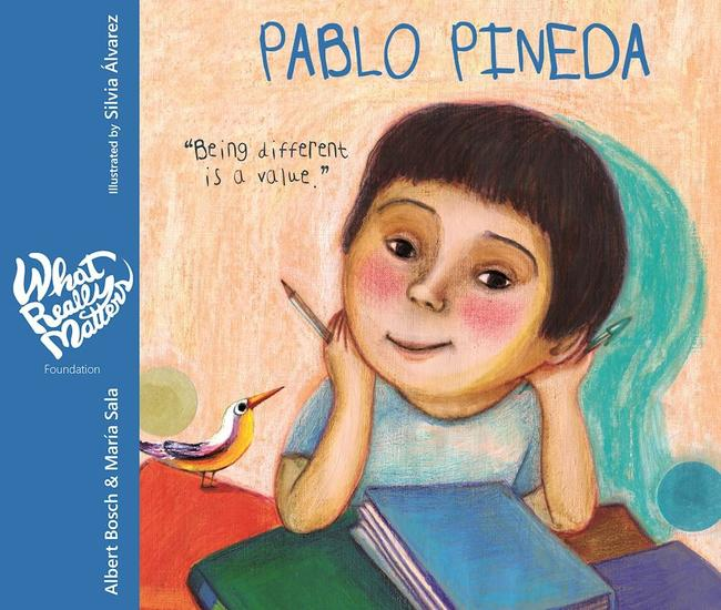 Pablo Pineda - Being different is a value - cover