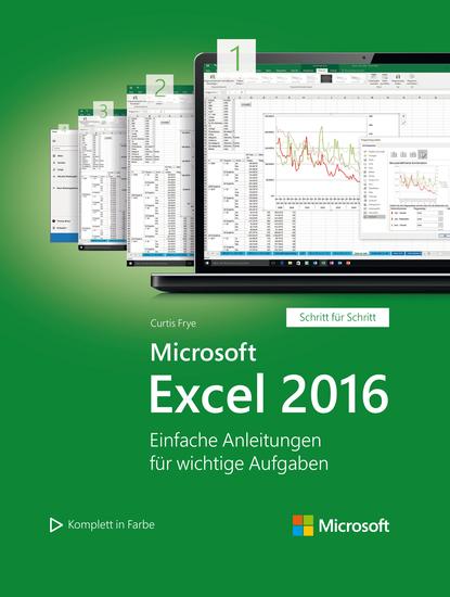 Microsoft Excel 2016 (Microsoft Press) - Einfache Anleitungen für wichtige Aufgaben - cover