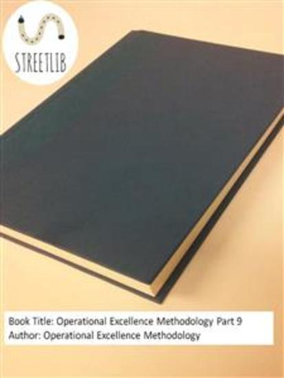 Operational Excellence Methodology Part 9 - cover
