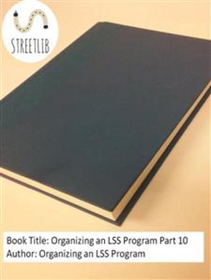 Organizing an LSS Program Part 10 - cover