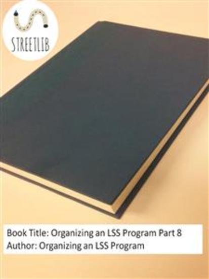 Organizing an LSS Program Part 8 - cover