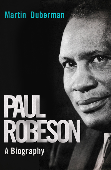 Paul Robeson - A Biography - cover