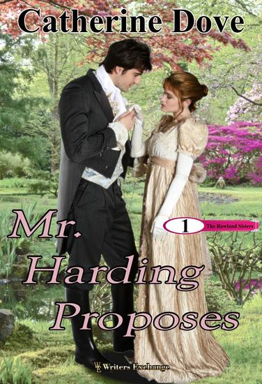 Mr Harding Proposes - The Rowland Sisters Trilogy #1 - cover