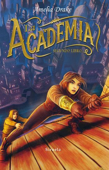 La Academia Segundo libro - cover