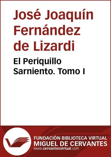 El Periquillo Sarniento I - cover