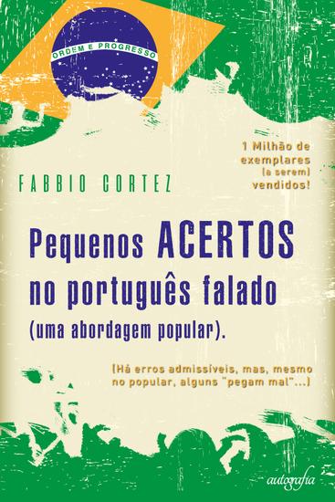 Pequenos acertos no português falado - cover