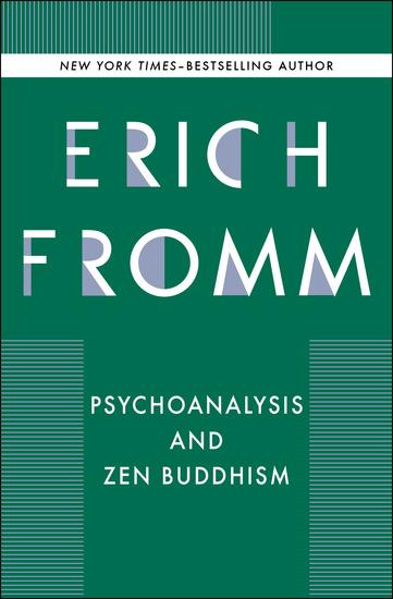 Psychoanalysis and Zen Buddhism - cover