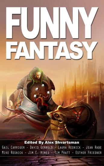Funny Fantasy - Unidentified Funny Objects - cover