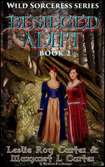 Besieged Adept - Wild Sorceress Series #2 - cover