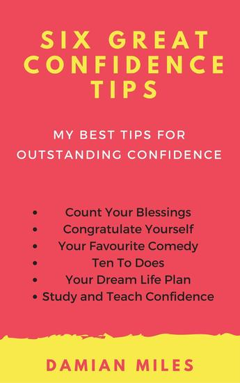 Six Great Confidence Tips - cover