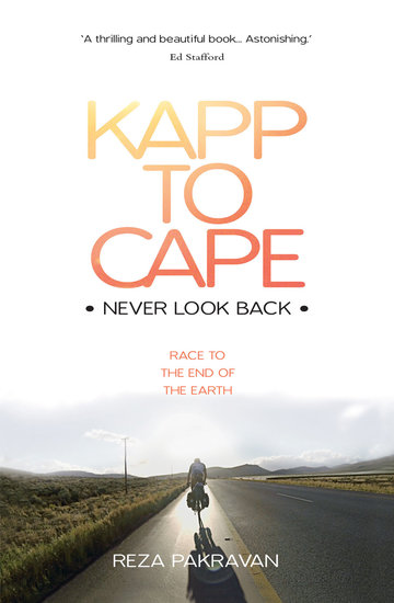 Kapp to Cape: Never Look Back - Race to the End of the Earth - cover
