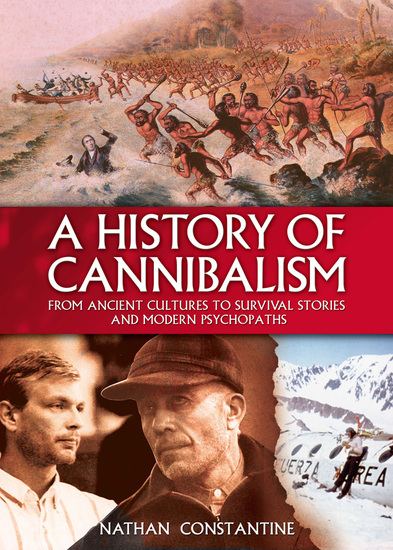 A History of Cannibalism - cover