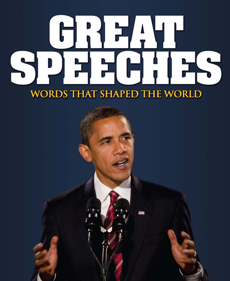 Great Speeches - Words that Shaped the World - cover