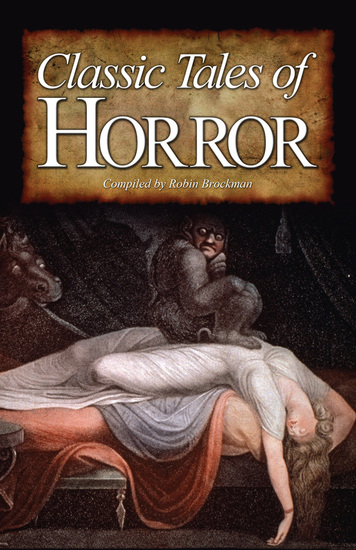 Classic Tales of Horror - cover