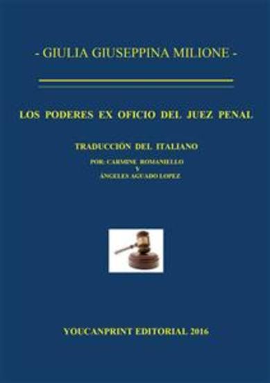 Los poderes ex oficio del juez penal - cover