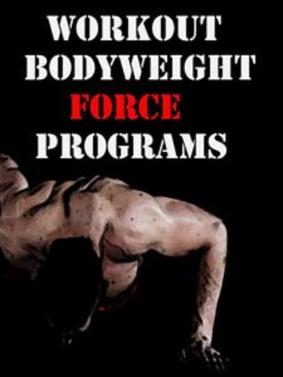 Workout Bodyweight Force Programs - cover